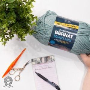 Bernat Bounce Back Yarn Review